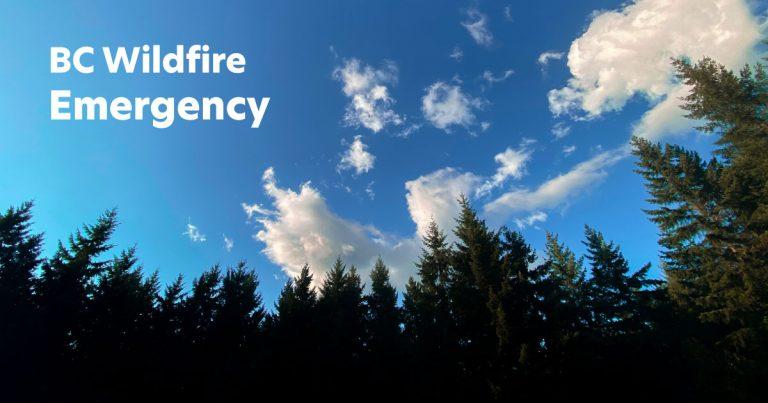 bc wildfire emergency